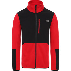 The North Face Glacier Pro Zip intera Uomo, tnf red/tnf black